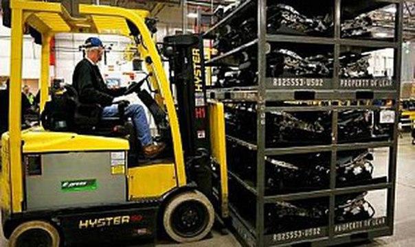 Объем товарно-материальных запасов вырос в ноябре