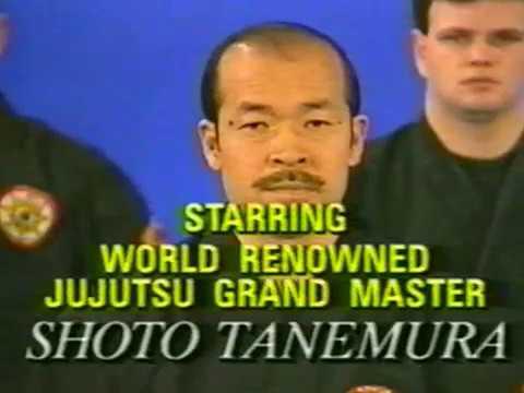 Мастер Шото Танемура - Дзю Дзюцу. 1 часть