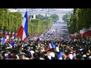 Victory parade: France welcomes home world champions – live!