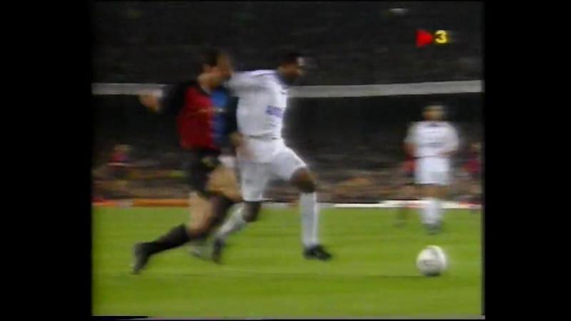КЕЧ-1999-00 Барселона-Челси 1-2 тайм