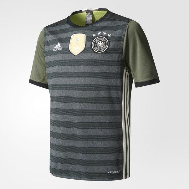 Выездная игровая футболка сборной Германии UEFA EURO 2016