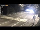 ДТП с возгоранием в Сочи. Дагомыс, перевал, улица Туманяна. 02.12.17