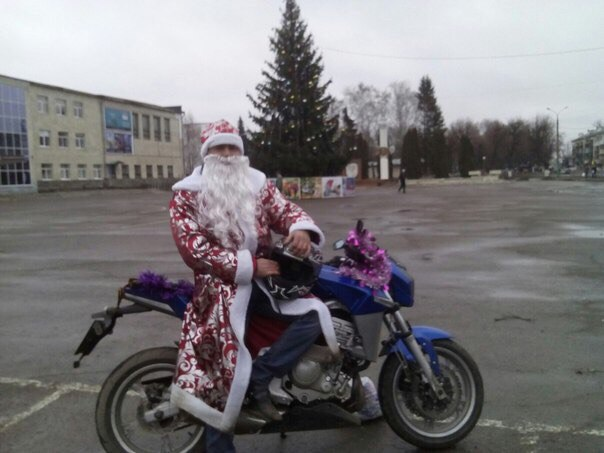 Мото Дед Мороз