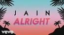 Jain Alright Lyrics Video