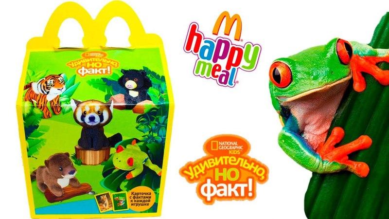 ИГРУШКИ Хэппи Мил МАКДОНАЛЬДС National Geographic Kids АПРЕЛЬ-МАЙ 2018 / Toys McDonald's Happy Meal
