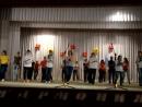 Гармония 2012, первый массовый танец в колледже!