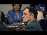 Владимир Путин проводит заседание с  Русским географическим обществом