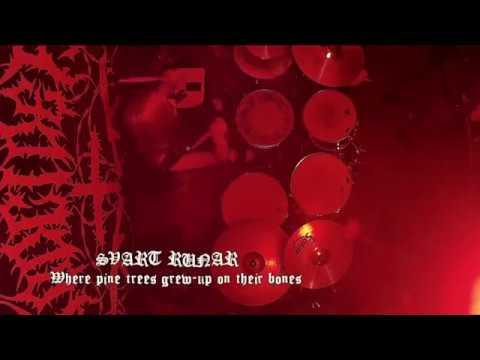 SVART RUNAR - Where pine trees grew-up on their bones (Live from HELL GARAGE MASS 30.06)