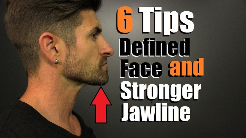 6 Tips For A MORE Defined Face, STRONGER Jawline Reducing Chubby Cheeks