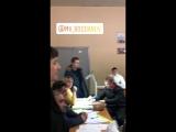 Алла Пугачёва и Максим Галкин на выборах президента РФ (Звенигород, 18.03.2018)
