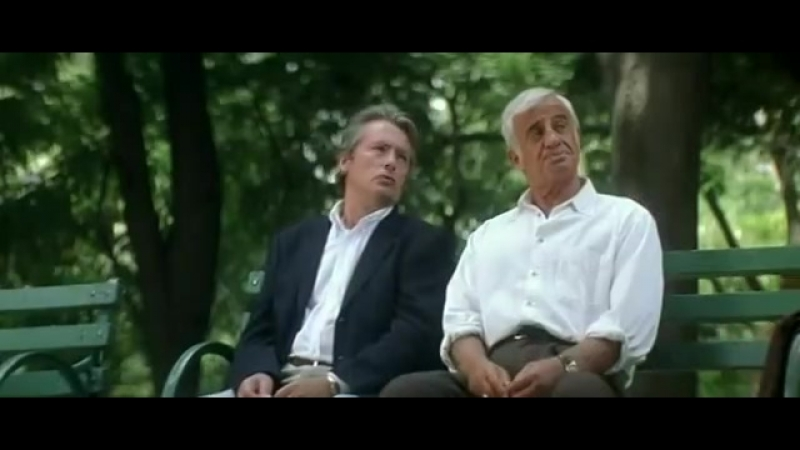 Фильм Один шанс на двоих _ Une chance sur deux, Франция, 1998. Жан-Поль Бельмонд