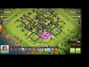 Clash of clans Тащеры атака на 10тх