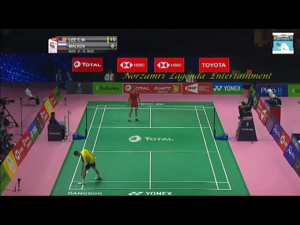 LEE Chong Wei vs Vladimir MALKOV ( Thomas cup 2018 )
