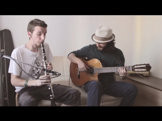 Dave Stewart  Candy Dulfer - Lily Was Here (Cover by The Duo Gitarinet)