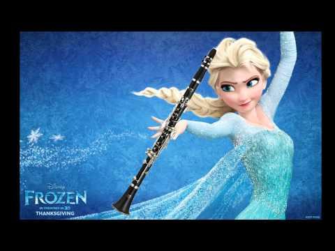 【Frozen】 Let It Go (Clarinet Cover)