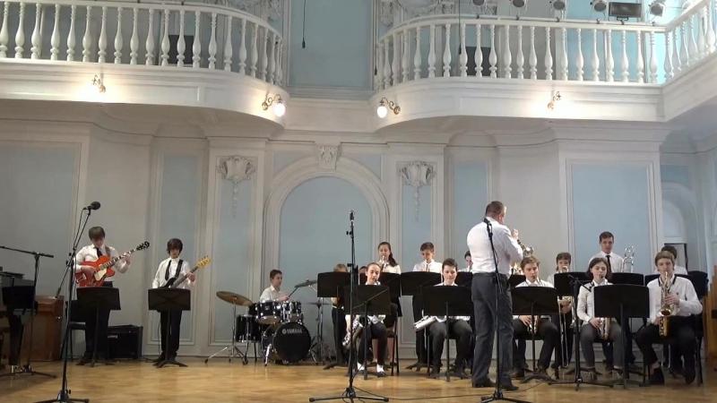 Отчетный концерт, посвященный 55-летию со дня основания ДМШ им. В.А. Моцарта - Часть 2