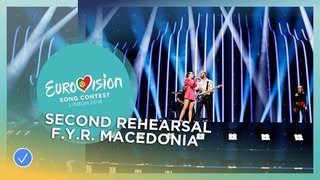 Eye Cue - Lost And Found - Exclusive Rehearsal Clip - F.Y.R. Macedonia - Eurovision 2018