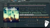 Afrojack &amp Dubvision - New Memories (Original Mix) (FL Studio Remake + FLP)