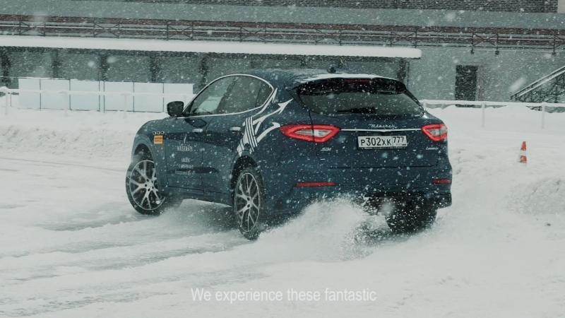 Larte Design - Maserati Levante TEST DRIVE in Moscow