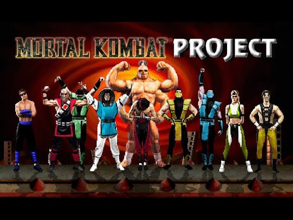 M.U.G.E.N Mortal Kombat Project 2.9 (PC) - Characters gameplay - Part 1