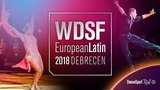 Tsaturyan - Svetlana Gudyno, RUS   2018 European LAT   R2 S   DanceSport Total