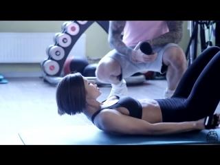 Маргарита Бойко.Тренировка спина-плечи.