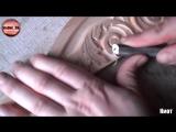 Резной киот для иконы часть 2. Резьба по дереву. Woodcarving