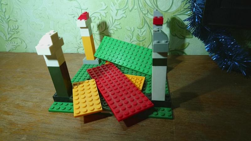 DJI Phantom 3 gimbal Lego construction and test