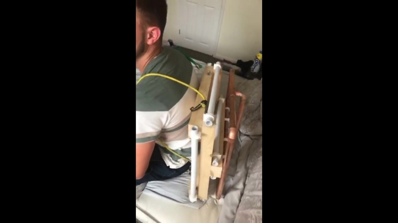 Lads created a fortnite inspired jet pack for their mate to wear while he plays