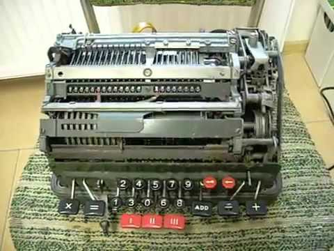 This is what happens when you divide by zero on a mechanical calculator