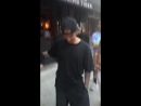June 21: Video of Justin with fans in New York City earlier today.