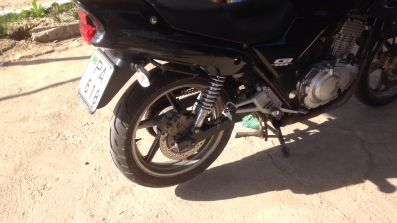 Honda CB500 прямоток