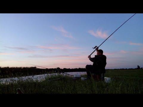 Рибалка з ночівлею. Пошук риби на річці. Фідер. Ловля на живця та росянку. Частина 1.