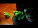 Лягушки из полотенец - Frogs from towels