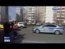 Россия 24 - На юго-востоке Москвы столкнулись мотоцикл и КамАЗ - Россия 24