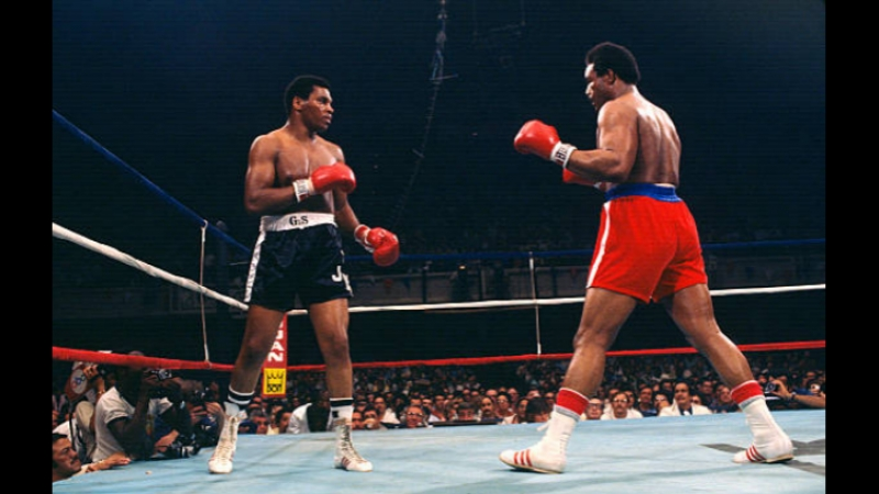 George Foreman Jimmy Young