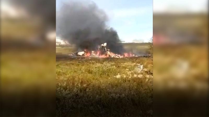В Красноярском края при крушении вертолета погибли 15 вахтовиков