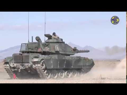 MKE tarafından geliştirilen 120 mm HE-T Tank Topu Mühimmatının test atışları