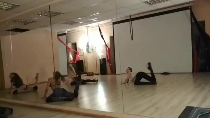 Открытый урок strip plastic. тренер Щепкина Анна