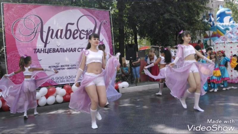 Шоу-группа «САПФИР»...Танцевальная студия АРАБЕСКИ (рук.Буймова Олеся)