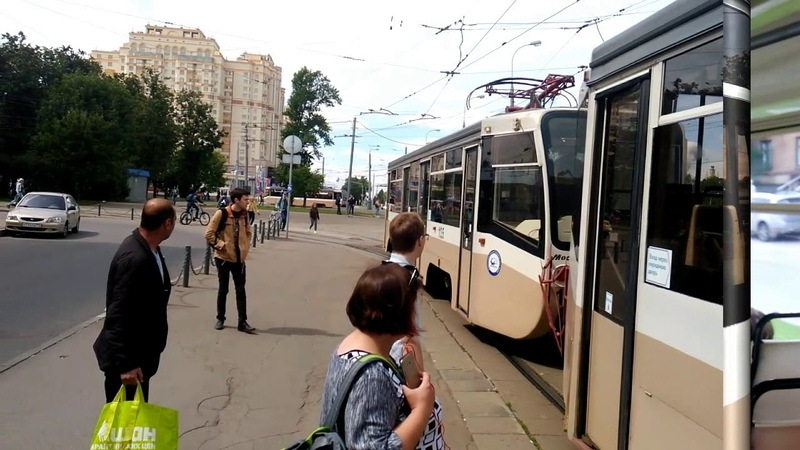 Московский городской транспорт! Озорной трамвай КТМ-19. Взгляд изнутри!