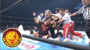 Jericho sheds blood in Fukuoka again! His brutal assault on Naito!!
