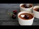 フライパンで10分!濃厚とろける~チョコプリン|10-min Chocolate Pudding