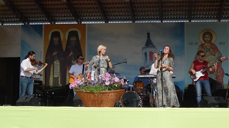 АРТ-фолк группа ЕжеВикА(Тамбов) на 13-м Кузнечном фестивале в Бывалино 15.07.2018., Дроля.