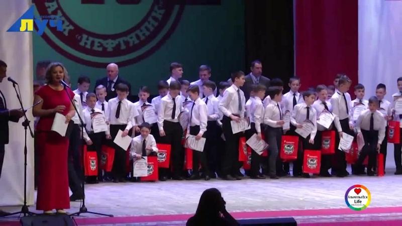 Альметьевская школа хоккея отмечает свой 40-летней юбилей