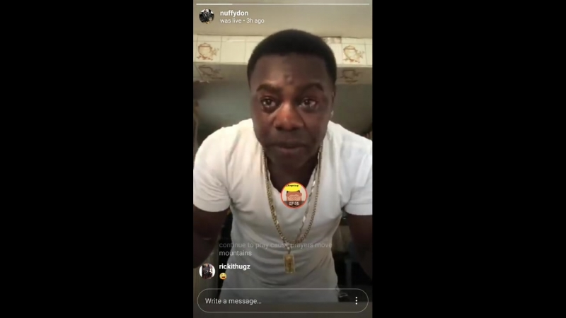 Mc Nuffy CRIES For Vybz Kartel Freedom Diss Gaza Members Popcaan Vanessa Bling