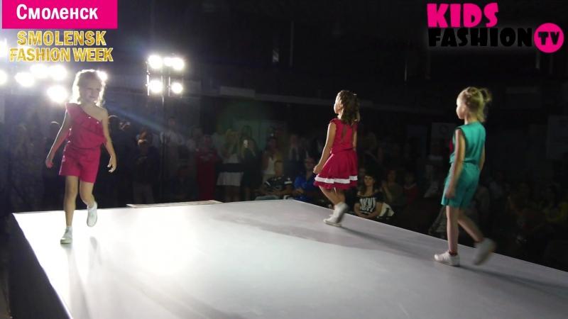 Показ коллекции бренда Fashion Book г Ростов на Дону Smolensk Fashion Week 2018 репортаж от Kids Fashion TV