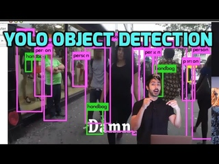 YOLO Object Detection (TensorFlow tutorial)