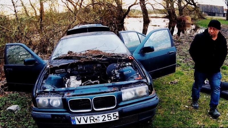 Нашли BMW e36 в лесу. Пригодилась! 2 в 1 [4k/UHD]