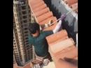 Бесстрашный китайский монтажник-высотник » Триникси